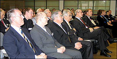 Teilnehmer des Internationalen Fairness-Forums 2005