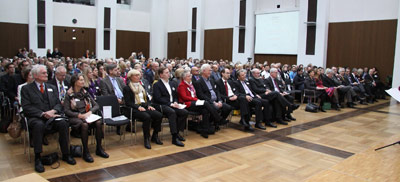 320 Gäste bei der Verleihung des Fairness-Initiativpreises 2012 an Finance Watch am 27.10.2012 in Frankfurt am Main